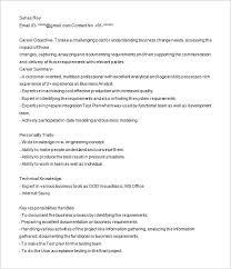 sample resume for business analyst jennywashere com