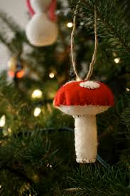 beau baby felt toadstool ornaments