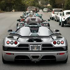 Car Week Egg Lineup Going Closest To Farthest Koenigsegg Ccxr