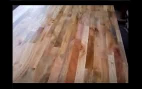 refinishing wood table reclaim butcher block top to natural wooden refinishing wood table reclaim butcher block top to natural wooden colors removing old stain youtube