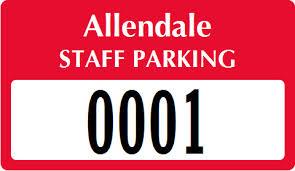 parking permit bumper stickers ship free from myparkingpermit