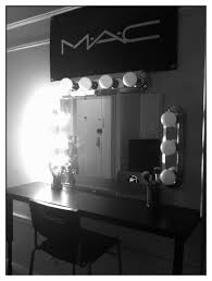 Makeup Vanity Canada Bedroom Furnituredark Makeup Vanity Canada With Wall Lamp And