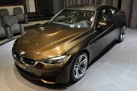 bmw m4 individual in pyrite brown sweet as chocolate or bitter as