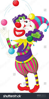 clowns juggling balls illustration clown juggling balls stock illustration 23947213