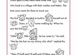 3 pigs worksheet education