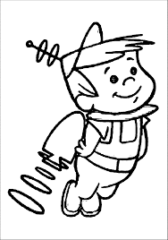 jetsons coloring pages wecoloringpage