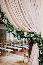 wedding arch gazebo 6 ft artificial fall pothos garland foliage for wedding arch