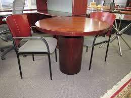 used round office table round mahogany conference table plano used office furniture