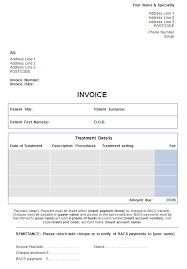 100 invoice templates uk food bill template and car sales