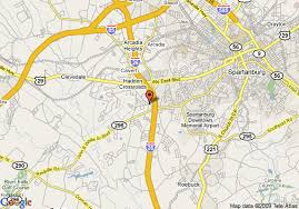 interstate 26 map map of 8 motel spartanburg i 26 exit 22 spartanburg