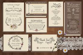 design invitations wedding design invitation rectangle vintage flower pattern
