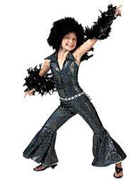 Disco Dancer Halloween Costume Amazon Girls Disco Boogie Halloween Costumes Large 12 14