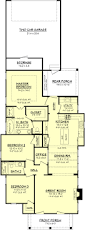 cottage style house plan 3 beds 2 baths 1550 sq ft plan 430 63