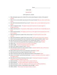 earth study guide 22and23