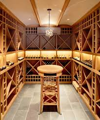 in floor wine cellar wine cellar with floor to ceiling wine racks contemporary basement