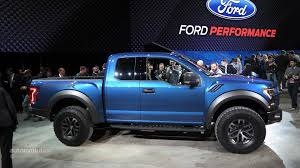 Ford Raptor Blue - 2017 ford f 150 raptor debuts at detroit feels more practical
