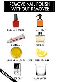 7 best ways to remove nail polish without remover theindianspot