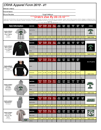 Excel Order Sheet Template Clothing Order Form Template T Shirt Order Form Template 21 Free
