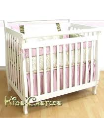 Mini Crib Mattress Cover Mini Crib Mattress Portable Mini Crib With Mattress Organic Mini