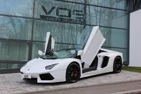 Lamborghini Aventador Lp700 4 Roadster - pur white lamborghini aventador roadster sssupersportscom