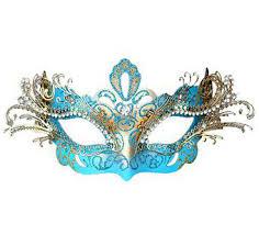 teal masquerade masks sky blue venetian masquerade mask 9245