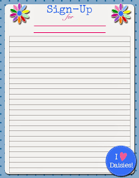 Free Templates For Sign In Sheets Food Sign Up Sheet Template