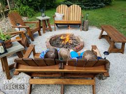 pictures of backyard fire pits diy fire pit backyard budget decor prodigal pieces