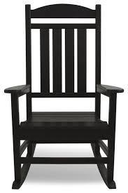 Outdoor Rockers Furniture Black Wooden Outdoor Rockers For Cool Backyard Patio Design