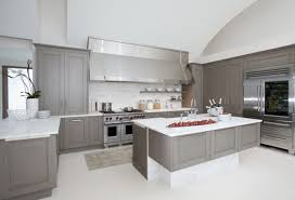 Stainless Steel Kitchen Cabinets Ikea by Stainless Steel Gray Kitchen Cabinets For Elegant And Modern Decor