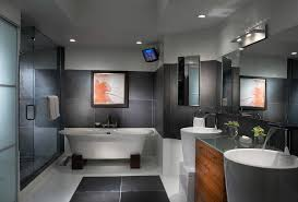 bathroom tv ideas contemporary wall decor ideas bathroom contemporary with bathroom