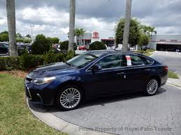2018 new toyota avalon limited at royal palm toyota serving