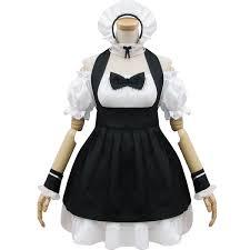 White Cat Halloween Costume Buy Wholesale Maid Cosplay Costumes Black White Cat