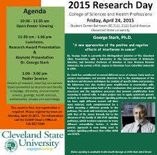 Cleveland State University Campus Map by Research Day 2015 Cleveland State University