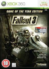 Fallout 3 Full Map Fallout 3 Game Of The Year Edition Xbox 360 Amazon Co Uk Pc