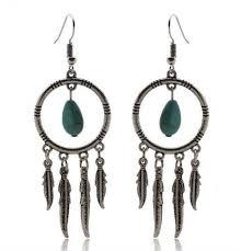 feather earrings bohemian feather earrings evolve lifestyle