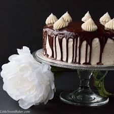 triple chocolate shadow cake little sweet baker
