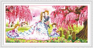 Livingroom Cartoon Online Get Cheap Cartoon Wedding Couple Aliexpress Com Alibaba