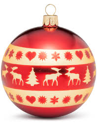 shop nordic icons ornament 8cm bauble at david jones