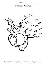 cartoon characters dot to dots worksheets page 4