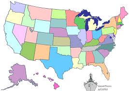 map of us without names us map without names my