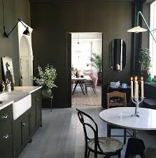 Olive Green Kitchen Cabinets Best 25 Green Kitchen Walls Ideas On Pinterest Green Paint