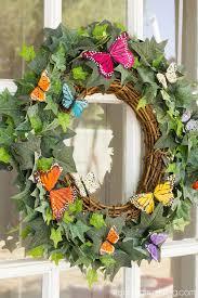 butterfly wreath diy tried true