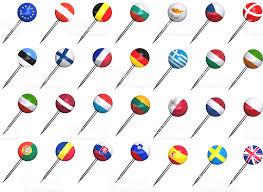 Pushpins European Union Flag Push Pins Stock Photo 173888229 Istock