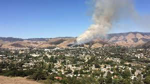 Wildfire Lompoc Ca by Wildfire Prompts Evacuations On Cal Poly Campus Kcbx