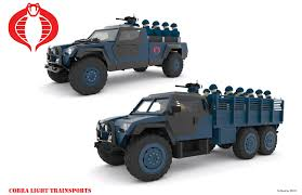 futuristic military jeep g i joe and cobra 3d vehicle designs by nogamusprime hisstank com