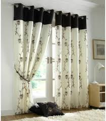 Chocolate Curtains Eyelet Bedroom Burlap Pom Pom Curtains My Handmade Home Pinterest