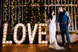 wedding backdrop hire kent vintage rustic light up letters for hire wedding hire for