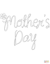 mother u0027s day coloring page free printable coloring pages