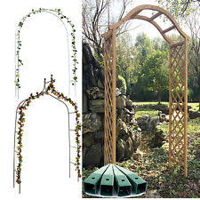 wedding arch ebay uk wooden garden arch ebay