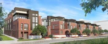 row homes luxury riverfront row homes planned for river north the denver post